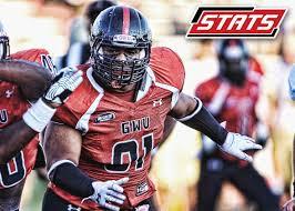 Gardner Webb University defensive tackle OJ Mau needs to be drafted, he is amazing