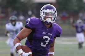 Mount Union wide out Roman Namdar is a stud with great hands. He was a touchdown machine at Mount Union