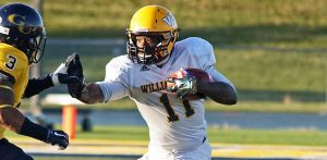 William Penn wide out Jatavius Stewart is a good route runner that can reel in a pass