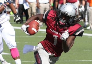 Florida Tech wide out Xavier Milton is a big play maker that has a nose for the touchdown