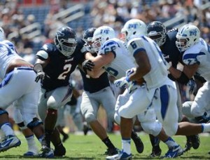 2013 FAU Football vs Middle Tennessee State