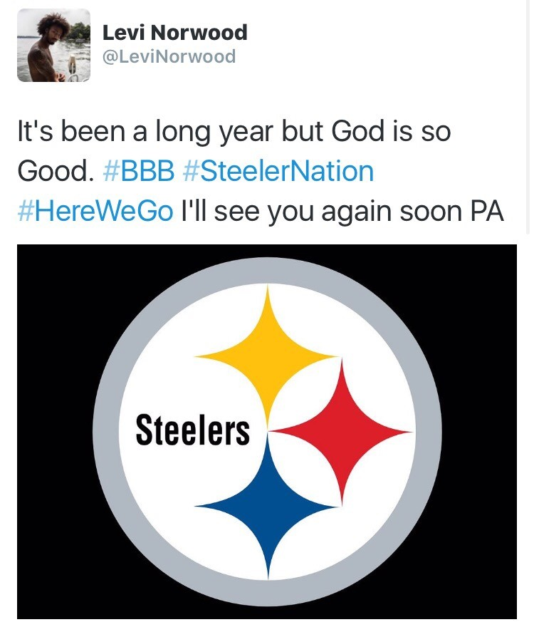 Steelers have signed WR Levi Norwood to a futures deal