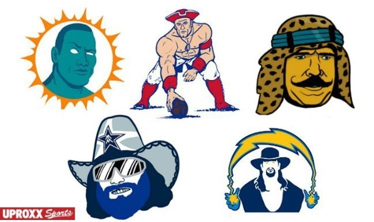WWE and the NFL meet