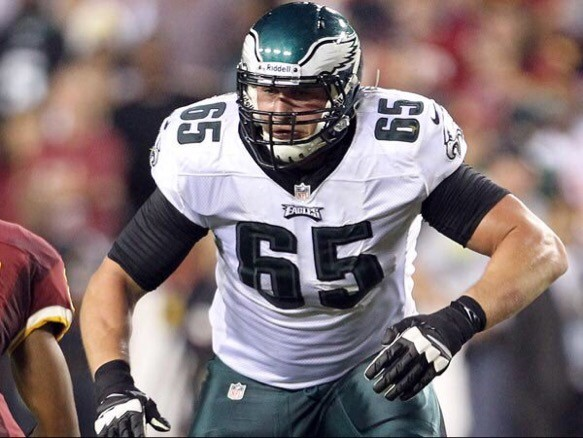 Lane Johnson is one rich right tackle