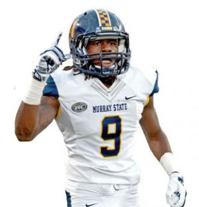 Murray State wide out Janawski Davis is a beast. He has speed and great hands