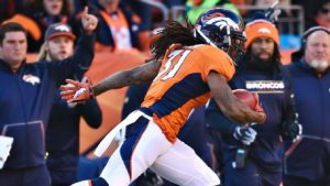 Broncos have placed return man Omar Bolden on injured reserve ending his season