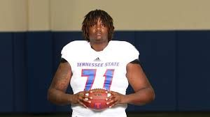 Tennessee State offensive lineman Shaquille Anthony has a great shot at making it