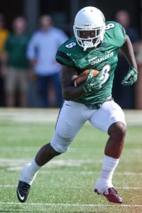 UNC Charlotte defensive back Ardy Holmes is a playmaker. He is a very solid prospect