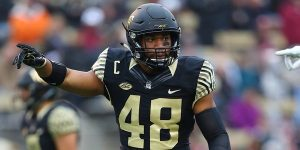 Wake Forest inside linebacker Brandon Chubb is one of my favorite prospects in the NFL Draft. The kid can play, and will be in the NFL.