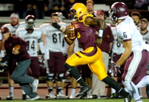 University of Charleston quarterback Jeremy Johnson is a dual threat. I love the kids passion for the game