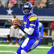 Angelo State quarterback Kyle Washington has an NFL arm.  He maybe one of the most athletic quarterbacks in the entire NFL Draft