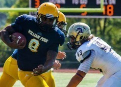 William Penn back Michael Thomas is a solid runner with good burst