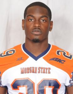 Morgan State defensive back Peterson Janvier is a good player with a great attitude
