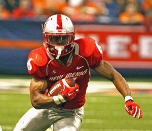New Mexico running back Jhurell Pressley is a stud. He should get a shot