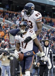 Could the Chicago Bears move on from both Martellus Bennett and Alshon Jeffery?
