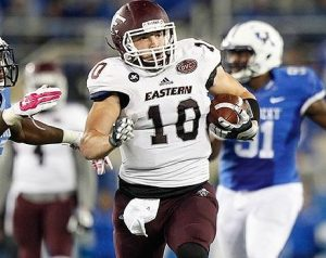 Ben Madon of Eastern Kentucky is a big boy with great hands
