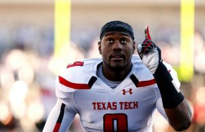 Texas Tech DE Branden Jackson is a big kid with great speed and technique