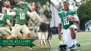 Dartmouth College quarterback Dalyn Williams has all the tools to be good at the next level