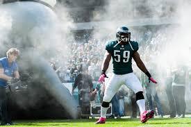 The Eagles saved 3.5 million dollars by releasing veteran linebacker DeMeco Ryans