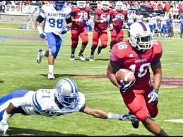 Dondre Lewis-Freeman of South Carolina State University is an elusive back with great hands