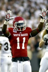 South Dakota wide receiver Eric Shufford Jr. is a solid player. He could be a steal in the 2016 NFL Draft