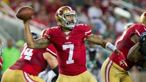 49ers staff will sit down with representatives of Colin Kaepernick in Indy this week