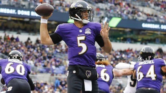 Ravens QB Joe Flacco is likely going to need to take a pay cut