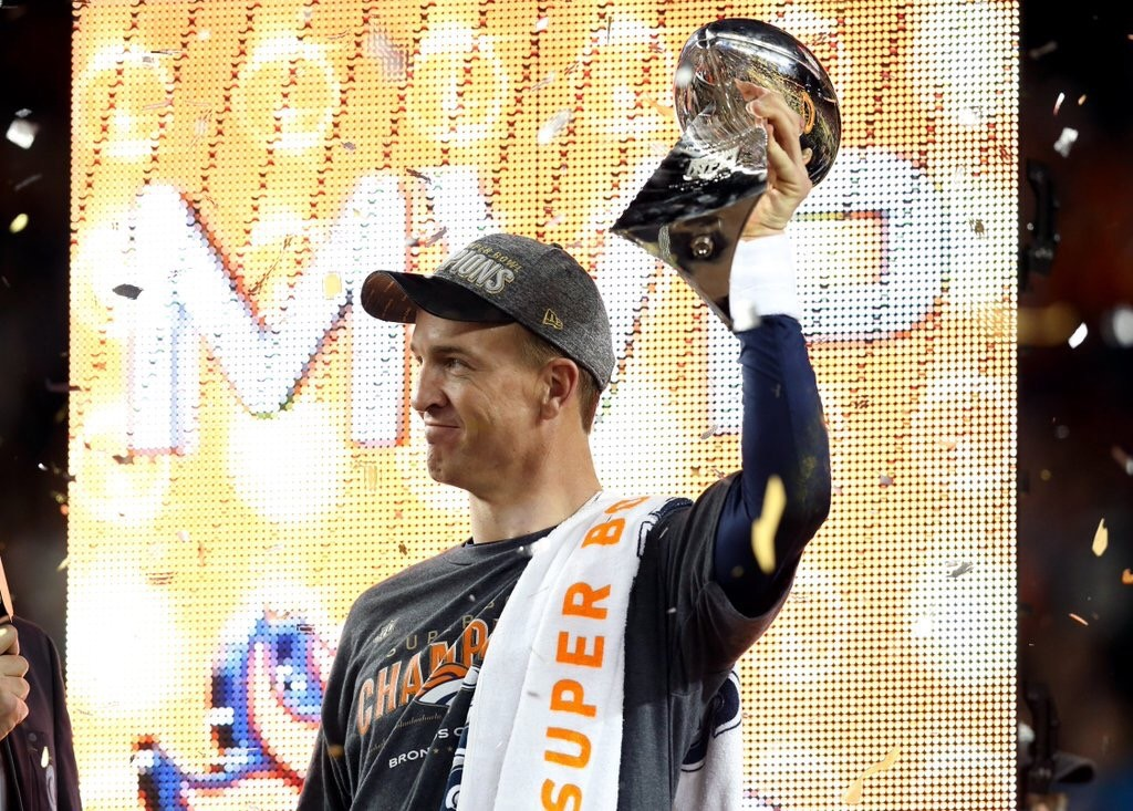 Peyton Manning will retire a Champion