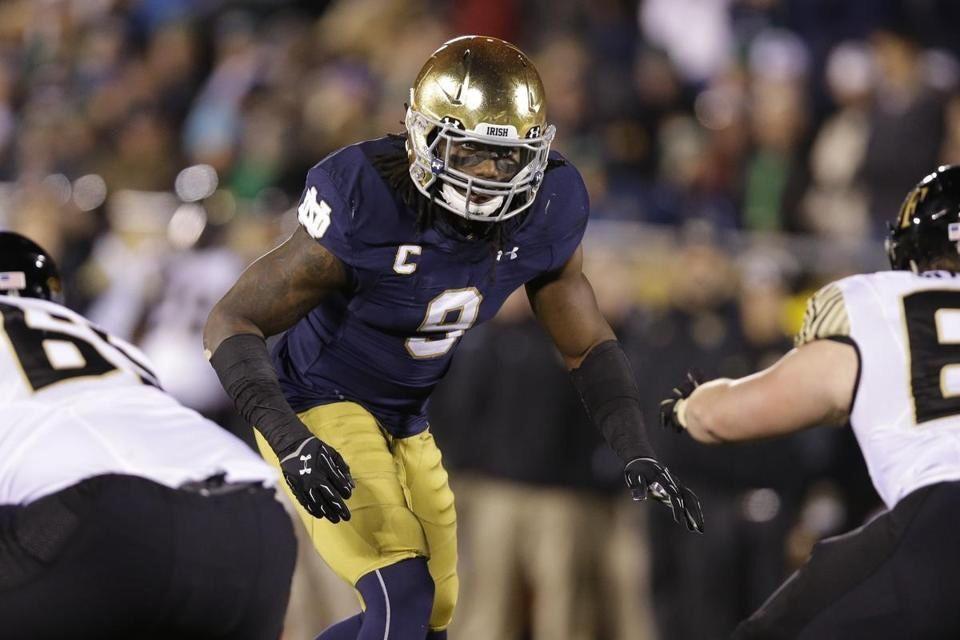 Notre Dame LB Jaylon Smith may drop big time