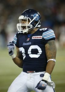 Miami Dolphins have signed former CFL sack master Cleyon Laing