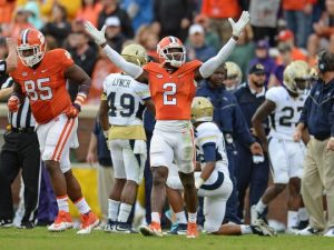 NFL draft prospect Mackensie Alexander was pretty impressive this year and should hear his name called in the first round of the NFL draft