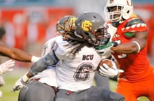 NCAA Football: Bethune Cookman at Miami