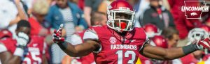 Arkansas has a playmaker in defensive back Davyon McKinney.  I love this kid's motor on the field. He seems to always be around the ball