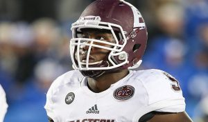 Eastern Kentucky pass rusher Noah Spence has been pretty up front about his situation all year, which will benefit him deeply