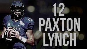 Memphis QB Paxton Lynch says his previous injuries spooked a few teams