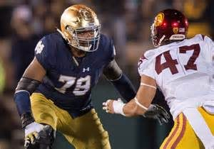 Could the Titans end up trading back and landing offensive tackle Ronnie Stanley