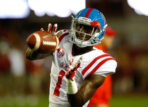 Mississippi wide out Laquon Treadwell was not able to break the 4.4 mark this year