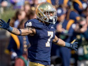 Notre Dame wide out Will Fuller put up some pretty amazing times