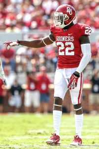 Oklahoma cornerback Cortez Johnson is a big boy with great length and is a true playmaker