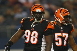 Former Bengals defensive tackle Brandon Thompson is visiting with the Seahawks today