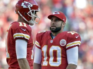 Eagles have signed former Chiefs quarterback Chase Daniels
