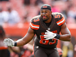 Saints are hosting former Browns linebacker Craig Robertson