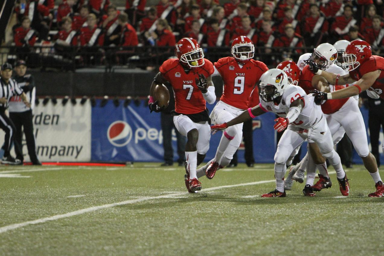 Youngstown State cornerback Kenneth Durden is a playmaker in the secondary
