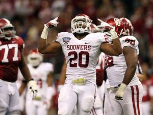 University of Oklahoma linebacker Frank Shannon is a beast on the football field