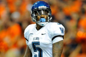 Villanova running back Gary Underwood is a quick back with great vision