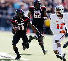 Jakeem Grant just blazed a fast forty at Texas Tech Pro Day.