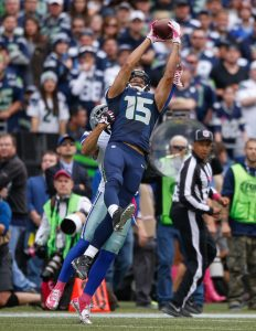 Seahawks wide receiver Jermaine Kearse will hit the open market