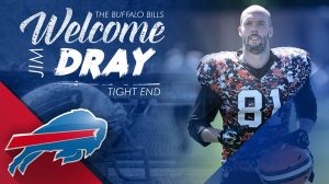 Buffalo Bills have signed TE Jim Dray