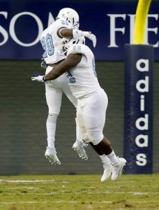 The Citadel defensive back Mariel Cooper is a big time play maker