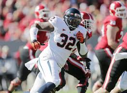 University of Virginia defensive lineman Mike Moore is a high motored defensive lineman